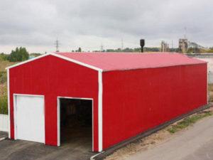 гараж для спецтехники