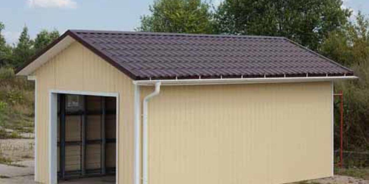 Проект гаража 3 м. на 6 м.