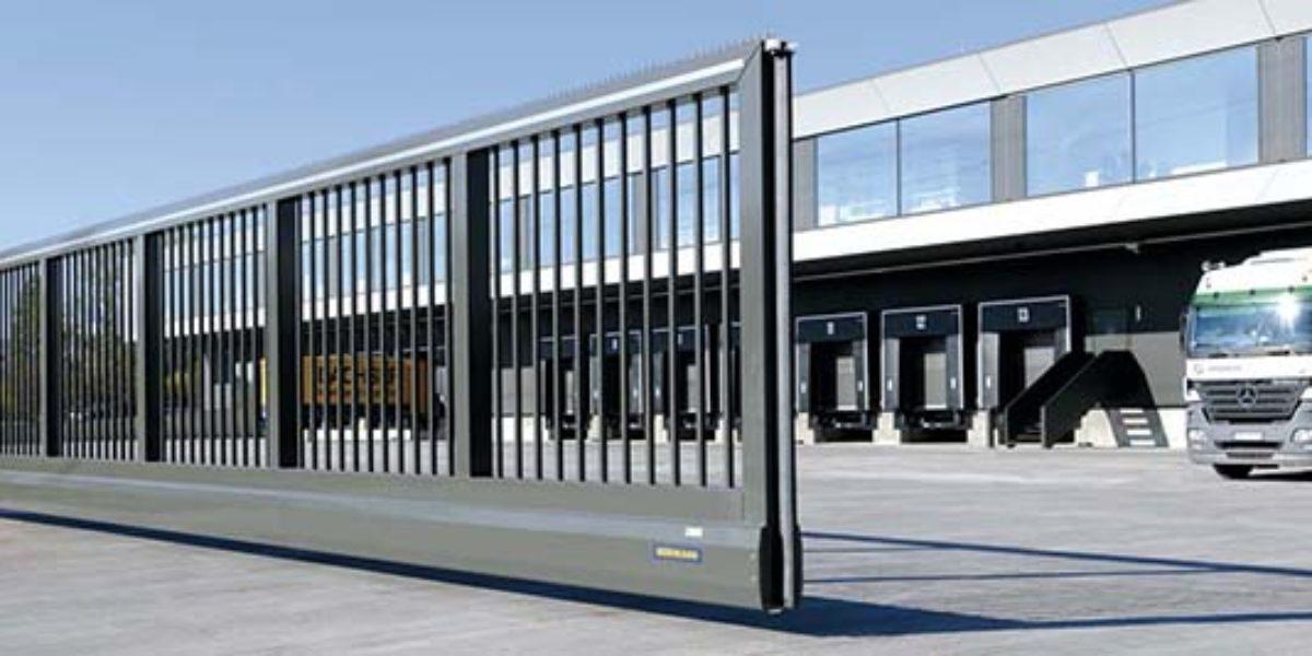 Ремонт откатных гаражных ворот фирмы Hormann