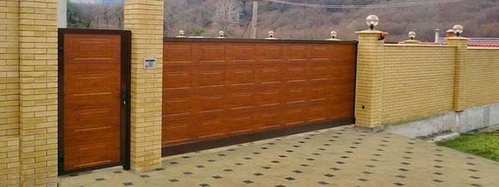 ремонт откатных ворот Doorhan