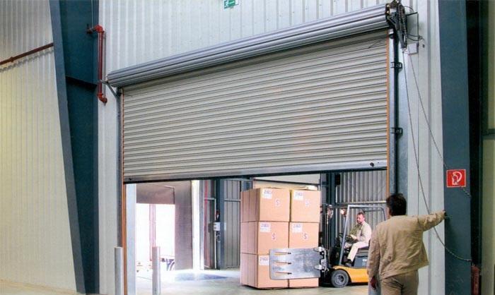 ремонт рулонных ворот hormann