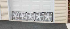 установка вентилляции в гараже