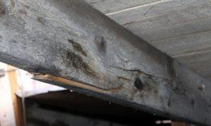 замена стропил и обрешетки в гараже